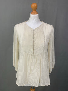 ISABEL MARANT ÉTOILE Ivory TOP  Size 0 - FR 34 - UK 6