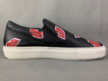 Load image into Gallery viewer, MARKUS LUPFER Black LIPS GRAPHIC TRAINERS / SHOES Size EU 40 - UK 7