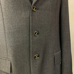 "MOSCHINO CHEAP and CHIC Mens Grey BLAZER / JACKET Size IT 52 - UK 42"" Chest"