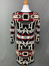 Load image into Gallery viewer, RALPH LAUREN Ladies Geometric DRESS Size LARGE L