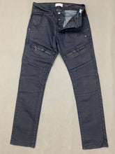"Load image into Gallery viewer, 883 POLICE Mens CASSADY Blue Denim Regular Fit JEANS Size Waist 32"" - Leg 30"""