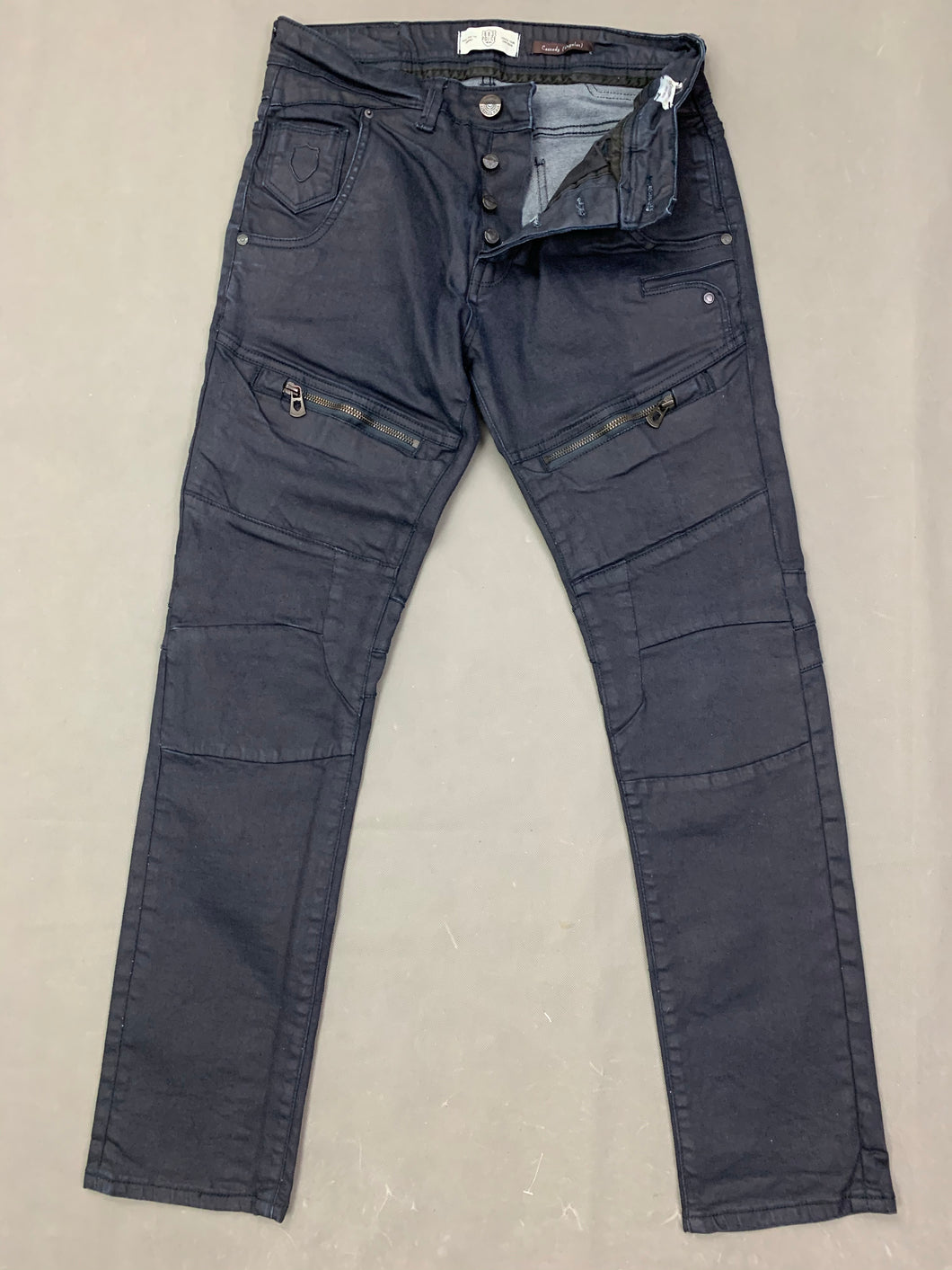 883 POLICE Mens CASSADY Blue Denim Regular Fit JEANS Size Waist 32