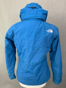 THE NORTH FACE Ladies Long Pile Lined HYVENT COAT / JACKET Size S Small