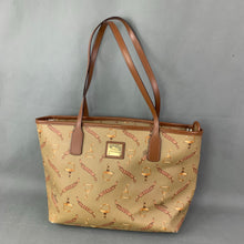 Load image into Gallery viewer, LAUREN Ralph Lauren RLL Horsebit Graphic Handbag / Tote Bag