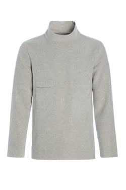 CARL BY STEFFENSEN COPENHAGEN Sweater med høj hals - 1003 SWEATER SAND 805