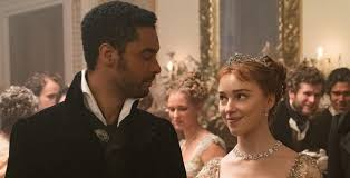 The Duke of Hastings & Miss Bridgerton in Netflix's Bridgerton