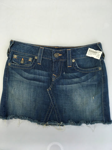 True Religion Womens Short Skirt Size 9/10 - Plato's Closet