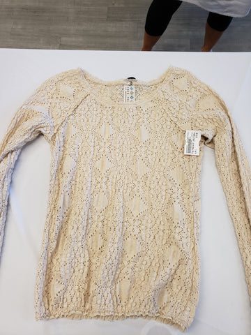 Free People Womens Long Sleeve Top Size Large - Plato's Closet