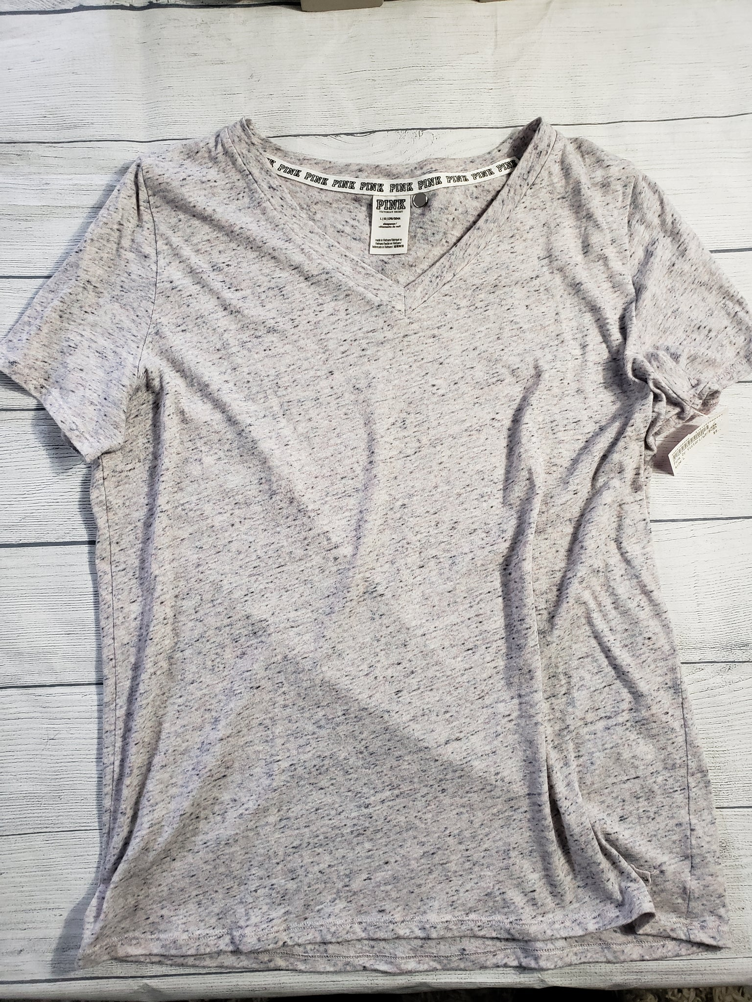 Pink By Victoria's Secret Womens T-Shirt Large - Plato's Closet