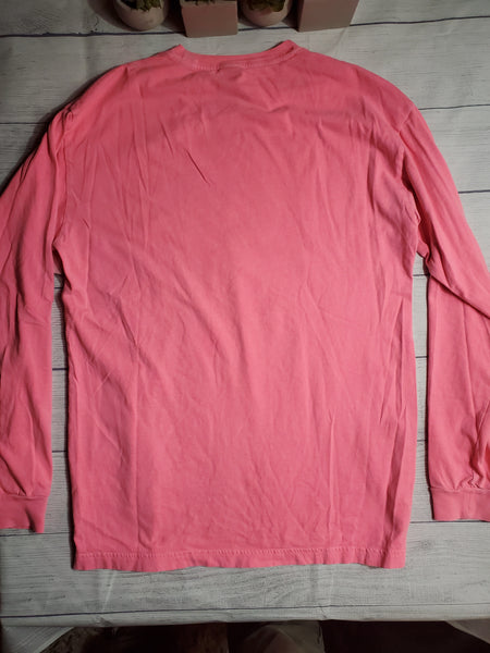 Pink By Victoria's Secret Womens Long Sleeve T-Shirt Small - Plato's Closet