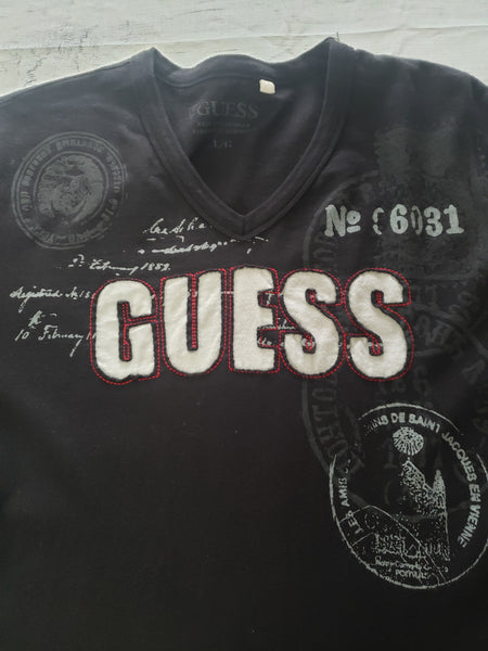 Guess T-shirt Size Large - Plato's Closet Batavia