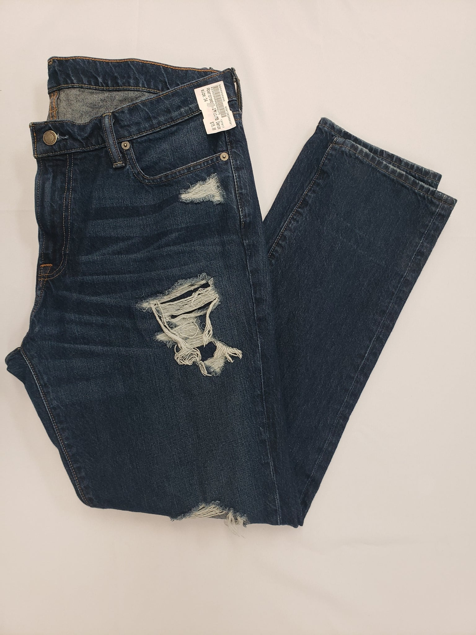 Abercrombie & Fitch Mens Denim Size 34 - Plato's Closet