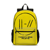 Twenty One Pilots School Backpack Kids Bookbag Laptop Bag 18 in