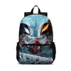 Venom Let There Be Carnage School Backpack Kids Lightweight BookBag Laptop Bag 18 in