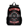 Five Finger Death Punch School Backpack Kids Bookbag Laptop Bag 18 in