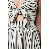 Stripe Beige Dress