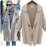 Casual Turn-Down Collar Loose Coat