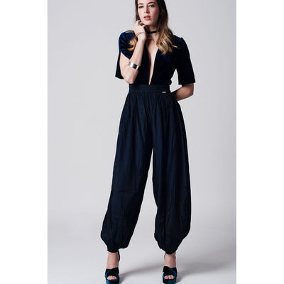 Stretchable waistband and cuffs Pant
