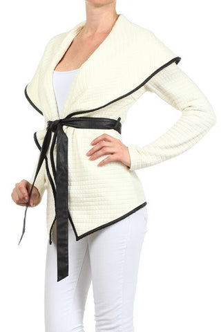 C-Belted Cardigan
