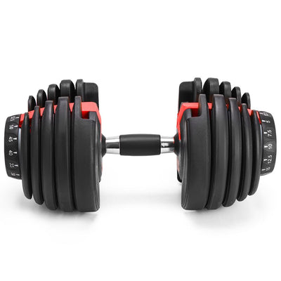 Weight Adjustable Dumbbell Fitness Workouts