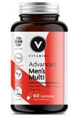 NEW Advanced Men's Multivitamin Product Pot. For Male Support.