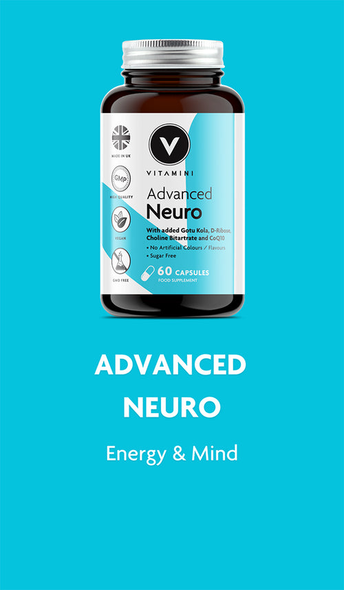 Advanced Neuro Product Pot. For Energy & Mind.