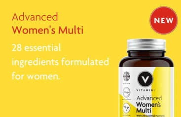 Advanced Women's Multi. 28 essential ingredients formulated for Women.