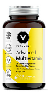 NEW Advanced Women's Multivitamin Product Pot. For Female Support.