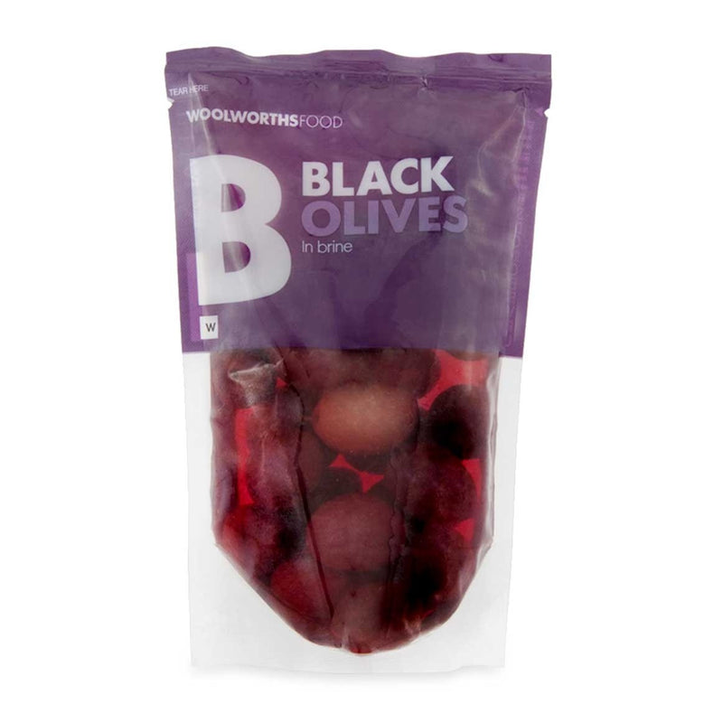 Black Olives in Brine 200g