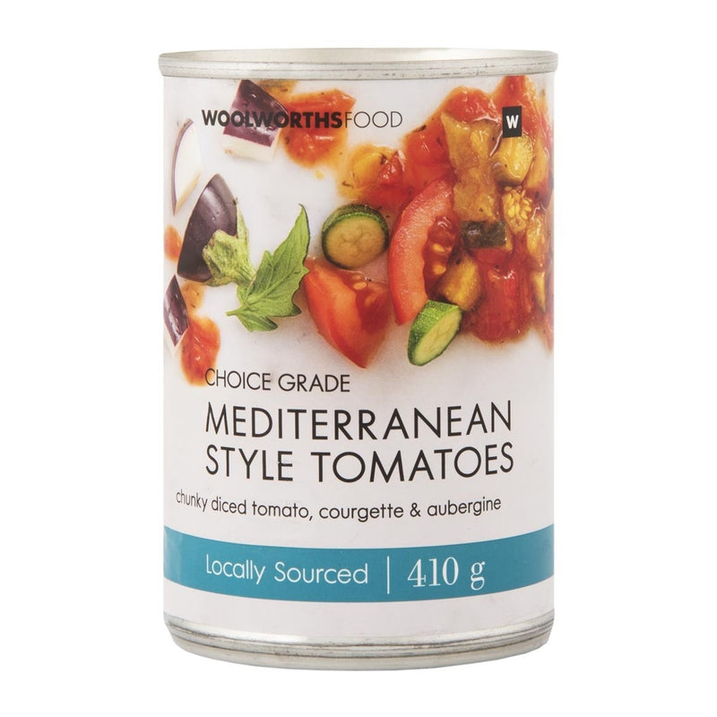 Mediterranean Style Tomatoes 410g