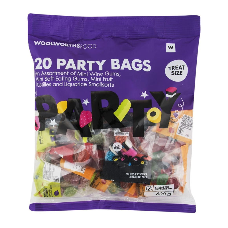 Party Bags Sweet Assortment 20x30g