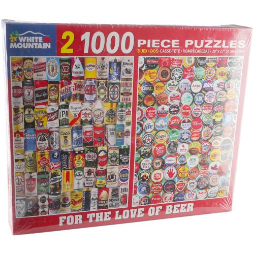 1000-Piece Puzzle: For the Love of Beer