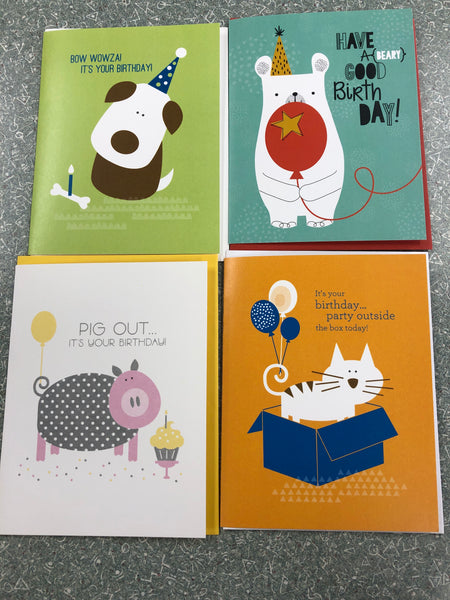 Doodlebird Birthday Card Bundle