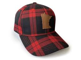 Minnesota Awesome Buffalo Plaid Hat
