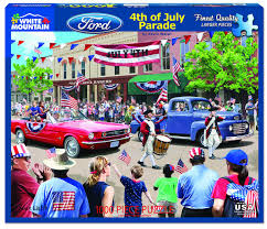 1000-Piece Puzzle: 4th of July Parade