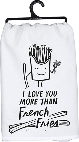 """French Fries"" Dish Towel"
