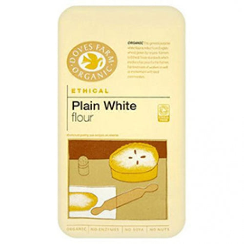 Doves Farm Plain White Flour - 1kg