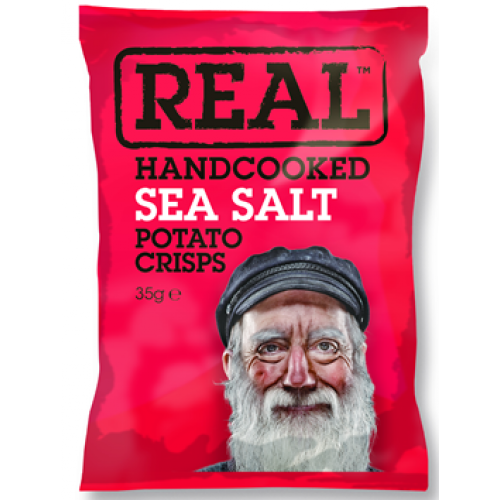 Real Crisps - Ready Salted - 50g