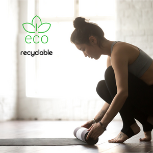 recyclebare yogamat