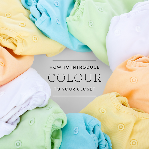 How to Introduce Colour to your Closet!
