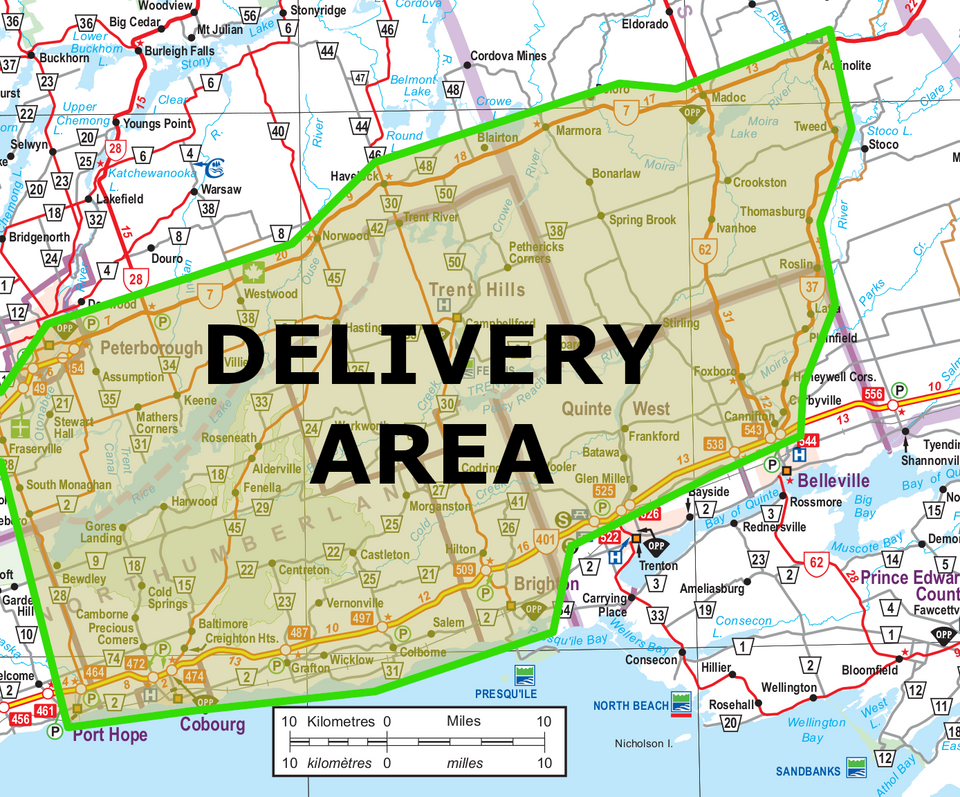Do you live within the Delivery Area for April