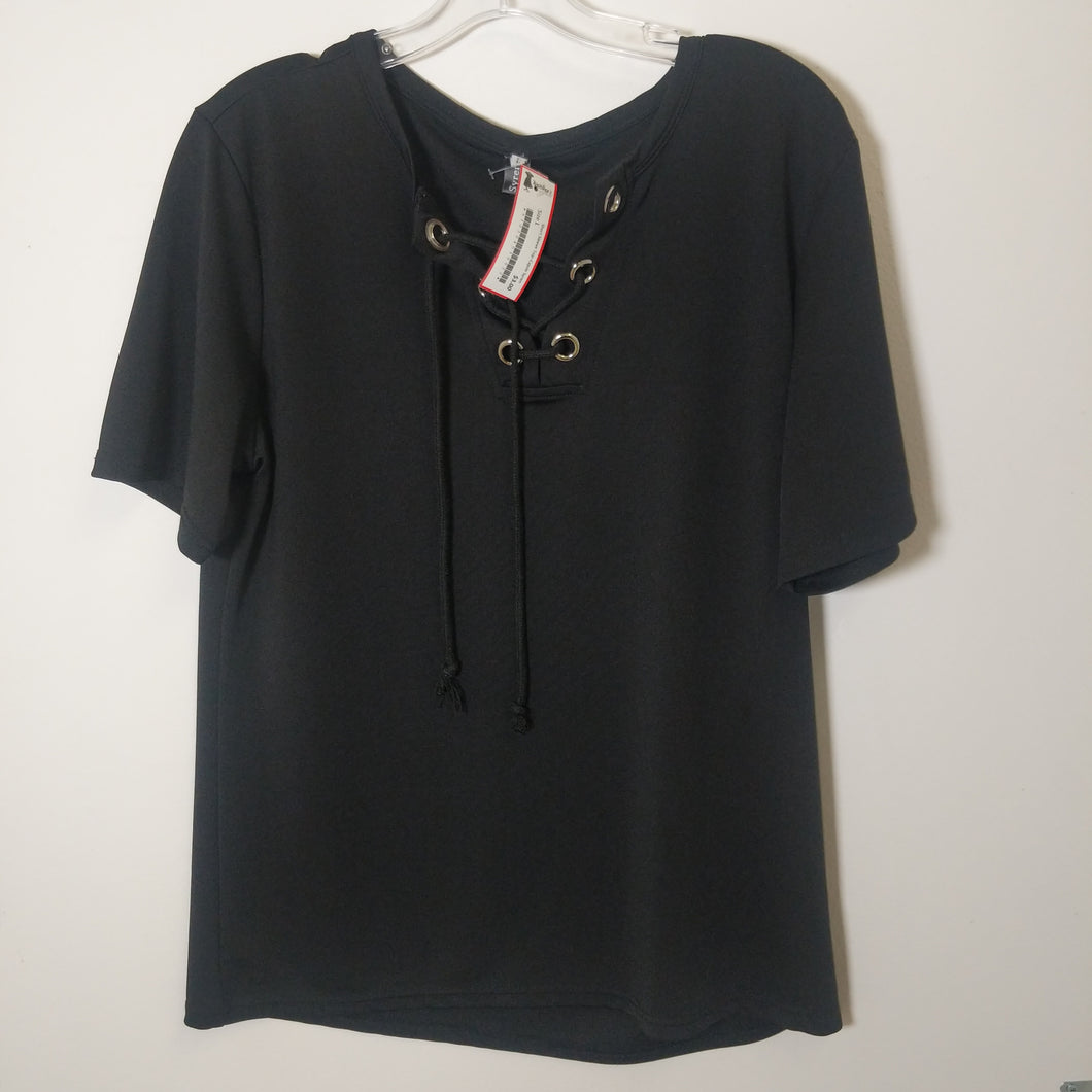 Short Sleeve Top - Size L