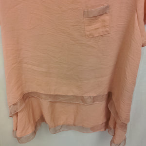 Short Sleeve Top - Size 2X