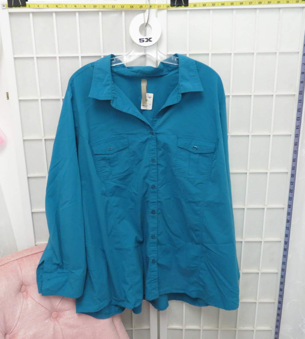 Long Sleeve Top - Size 5X