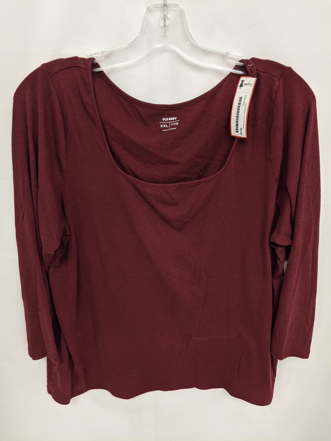 Long Sleeve Top - Size XXL