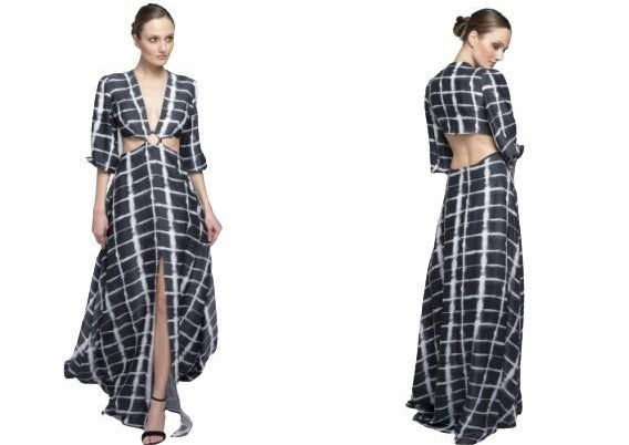Satin Maxi Dress - Meraki Store