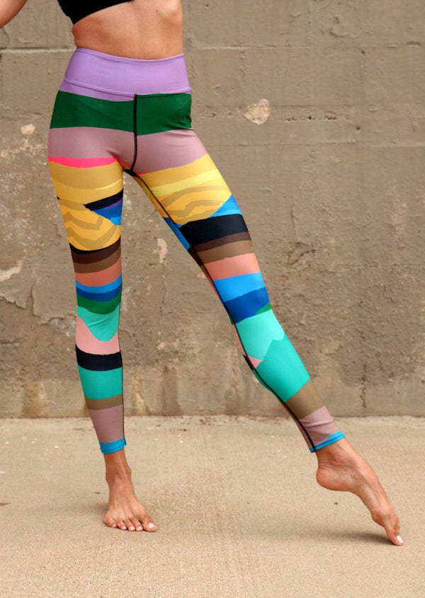 Infinite Mountain Legging - Meraki Store