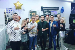 Crew Salon Celebrate 45 years!