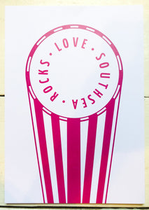 Love Southsea Rocks Print