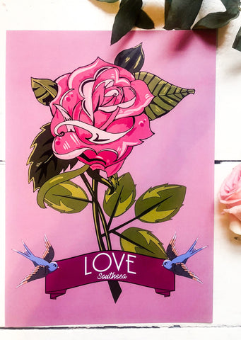 Rose of Love Print